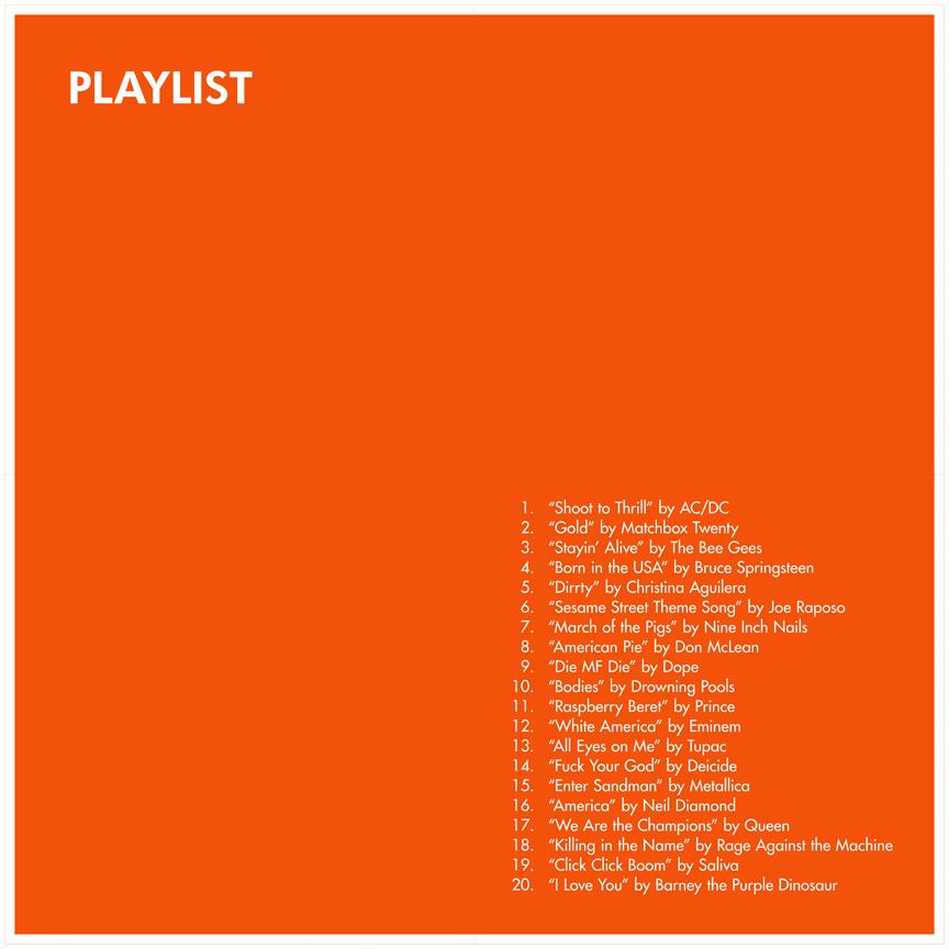 Playlist for Primates Orange